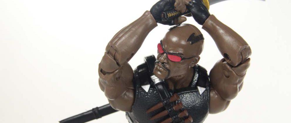 Marvel Legends Blade Netflix Man Thing BAF Wave Hasbro Action Figure Toy Review