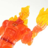 Marvel Legends Human Torch Walgreens Exclusive Fantastic Four Hasbro Action Figure Toy Review