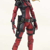 Marvel Select Lady Deadpool Diamond Select Toys Comic Action Figure Toy Review