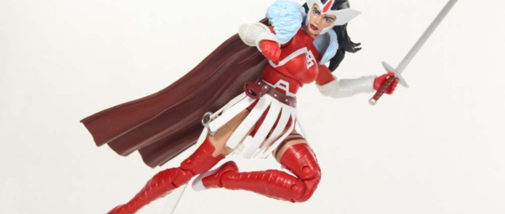 Marvel Legends Lady Sif A-Force TRU Box Set Thor Comic Hasbro Action Figure Toy Review