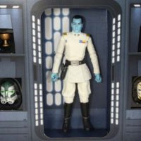Star Wars Thrawn SDCC 2017 Exclusive Black Series 6 Inch Hasbro Action Figure Toy Review