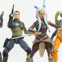 Star Wars Hera Syndulla 6 Inch Black Series Rebels TV Show Hasbro Action Figure Toy Review