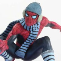 Kotobukiya Spider-Man NYCC 2017 Winter Gear Exclusive ArtFX+ Marvel Now Comic Statue Review