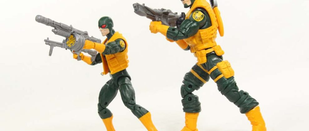 Marvel Legends Hydra 2-Pack TRU Exclusive Toys R Us Hasbro Comic Action Figure Toy Review