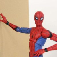 Marvel Select Spider Man Homecoming Movie Diamond Select Toys Action Figure Toy Review