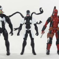 Marvel Legends Venompool Gamestop Exclusive Deadpool Back In Black Comic Figure Toy Review
