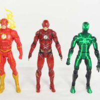 DC Multiverse Flash 2-Pack Target Exclusive Justice League Movie DC Rebirth Mattel Figure Toy Review