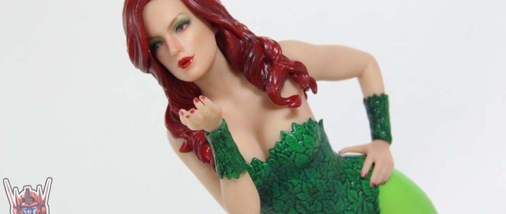 Kotobukiya Poison Ivy Gotham City Sirens ArtFX+ DC Comics Statue Review