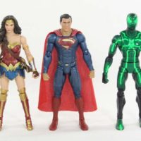 DC Multiverse Justice League Superman & Wonder Woman Steppenwolf Wave Figure Review