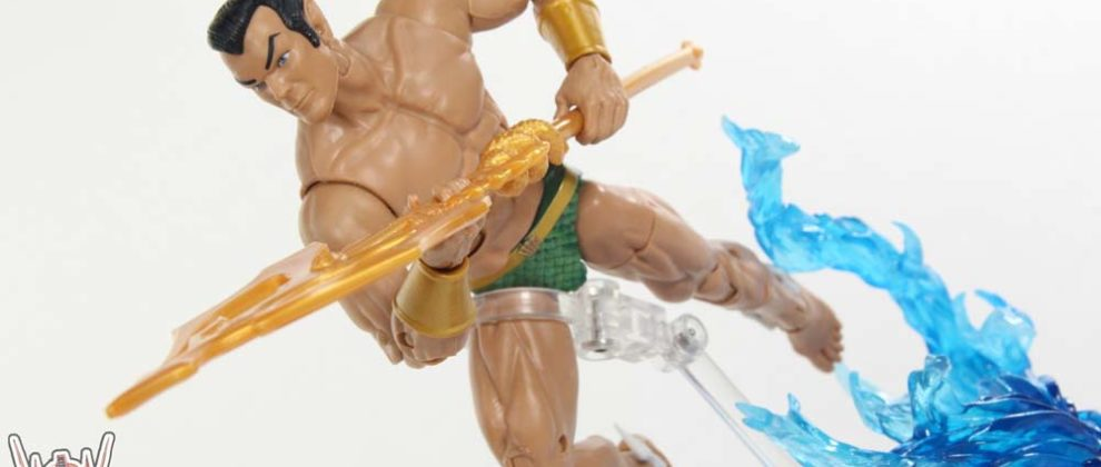 Marvel Legends Sub-Mariner Black Panther Movie Okoye BAF Wave Hasbro Figure Toy Review