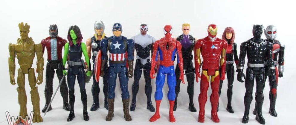 Marvel Titan Heroes Series Mega Collection 12 Pack Hasbro Movie Comic Toy Review