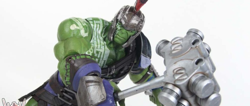 Marvel Select Gladiator Hulk Thor Ragnarok Movie Diamond Select Toys 7 Inch Scale Action Figure Toy Review