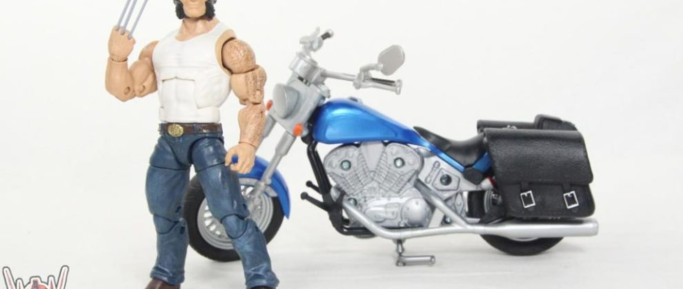 Marvel Legends Wolverine Motorcycle Bike Ultimate Set Marvel Comics Logan Action Figure Toy Review