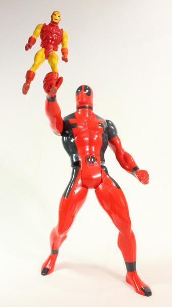 Secret Wars Deadpool 12 Inch JUMBO Gentle Giant SDCC 2015 Exclusive Toy Action Figure Review