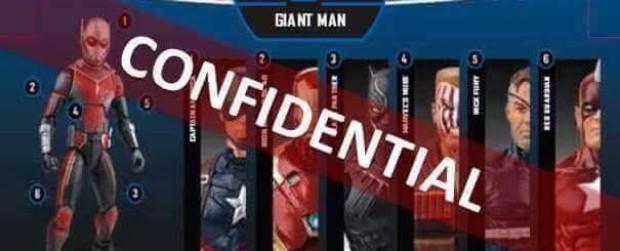 Marvel Legends Giant Man BUILD A FIGURE Wave Leaked!!!