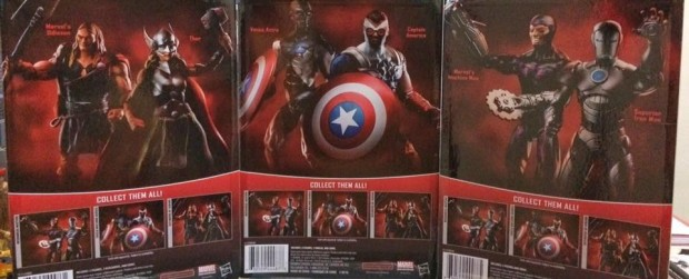 Marvel Universe Legends Series 3 3/4 Inch 2-Packs
