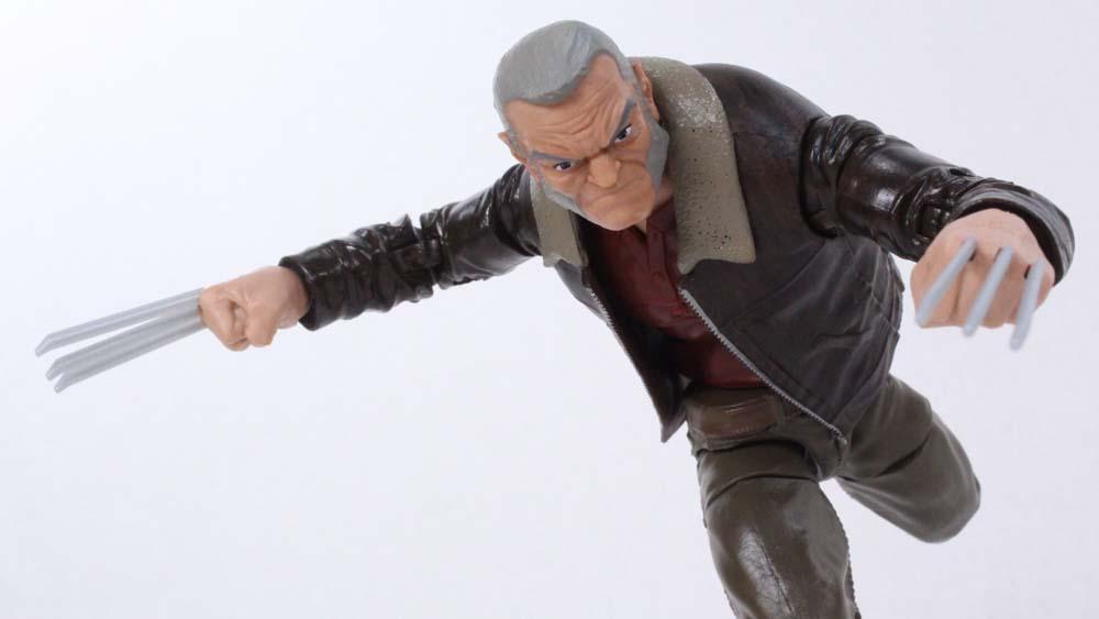 Marvel Legends Old Man Logan Wolverine Warlock BAF Wave Action Figure Toy Review