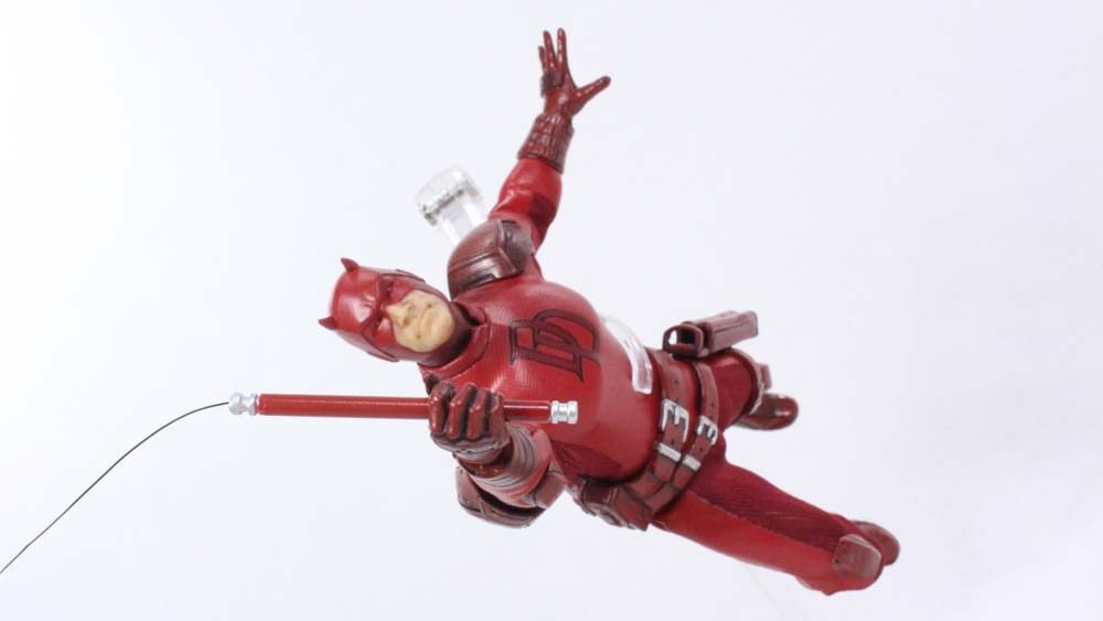 Mezco Toyz Daredevil One:12 Collective 6 Inch Marvel Comics Action Figure Toy Review
