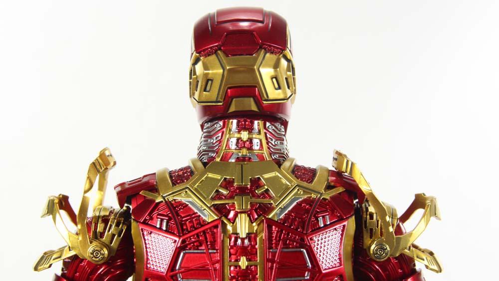 Hot Toys Retro Bones Iron Man Mark 41 Iron Man 3 Movie Sdcc 2017