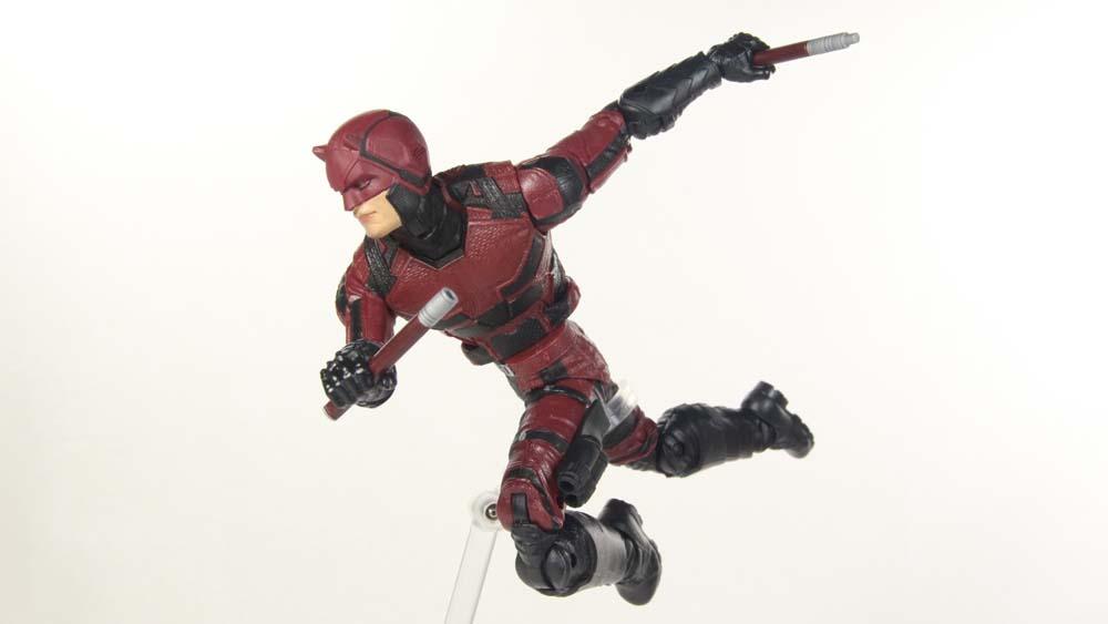 Marvel Legends Netflix Daredevil Man-Thing BAF Wave Hasbro Action Figure Toy Review