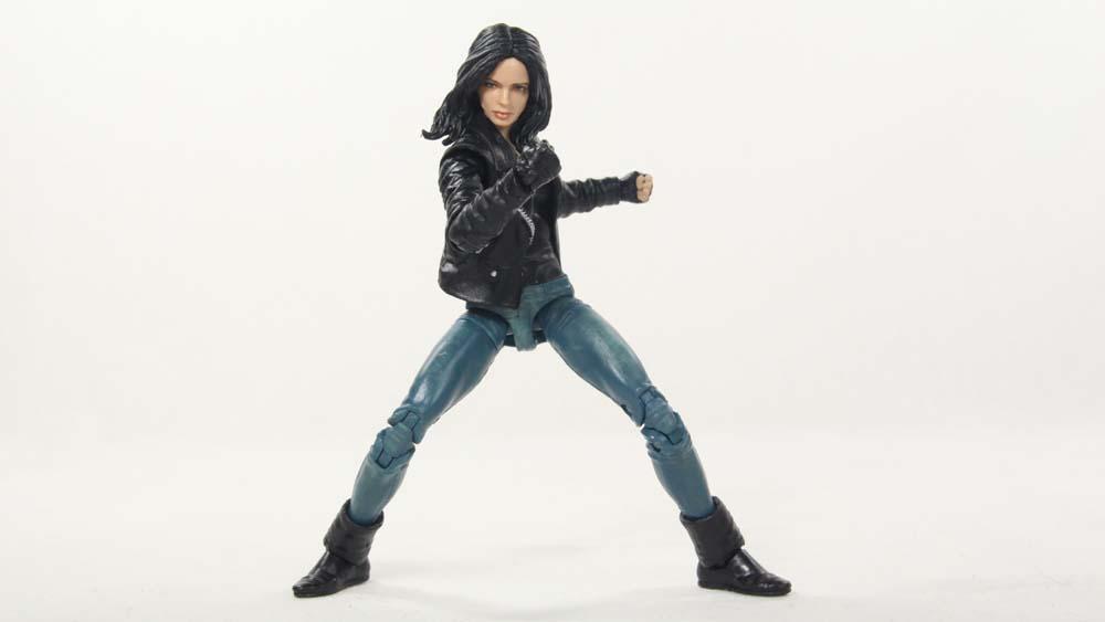 Marvel Legends Netflix Jessica Jones Man-Thing BAF Wave Hasbro Action Figure Toy Review