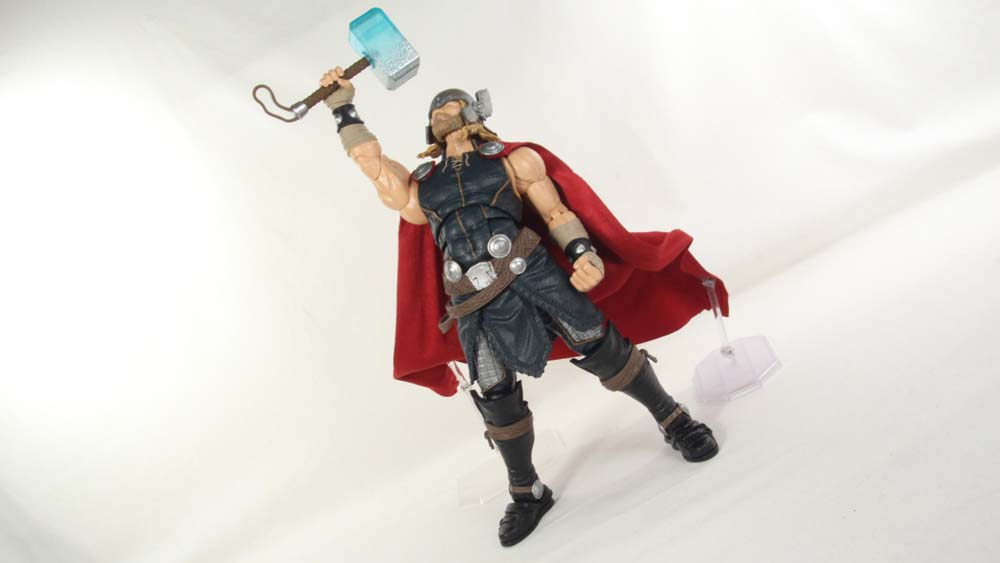 Marvel Legends Series Thor 12 Inch Comic Hasbro 1:6 Scale Action Figure Toy Review