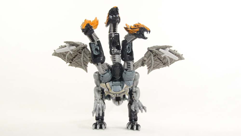 Transformers Dragonstorm The Last Knight Leader Class Combiner Hasbro Movie Figure Toy Review
