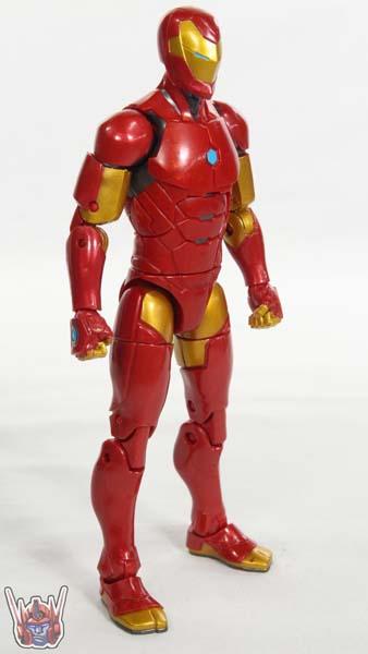 Marvel Legends Invincible Iron Man Black Panther Movie Okoye BAF Wave Hasbro Figure Toy Review
