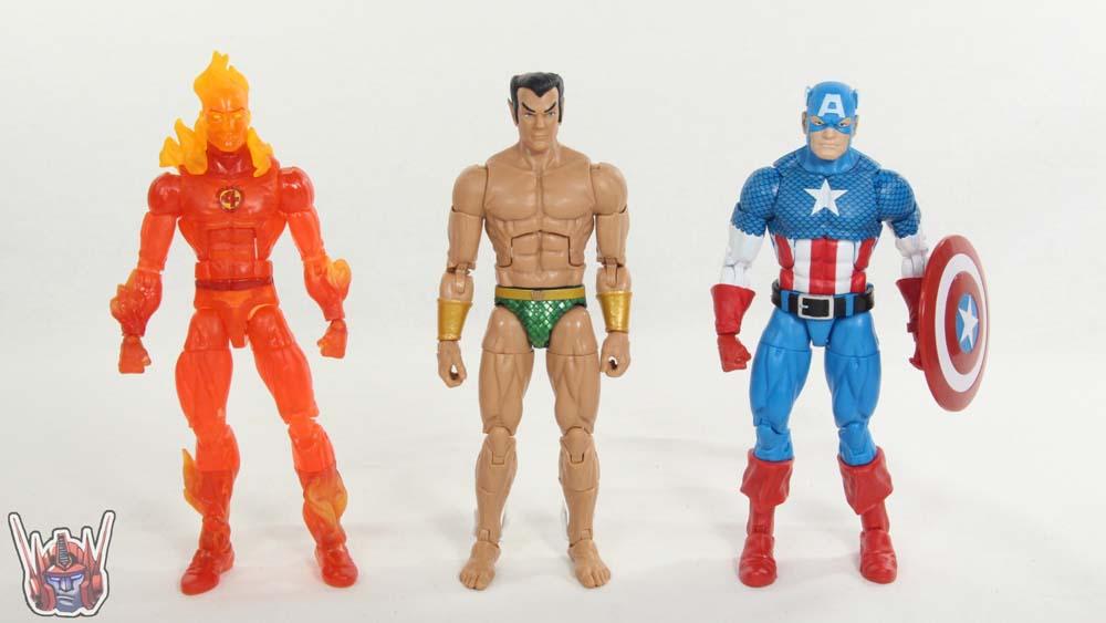Marvel Legends Sub-Mariner Black Panther Movie Okoye BAF Wave Hasbro Figure Toy Review