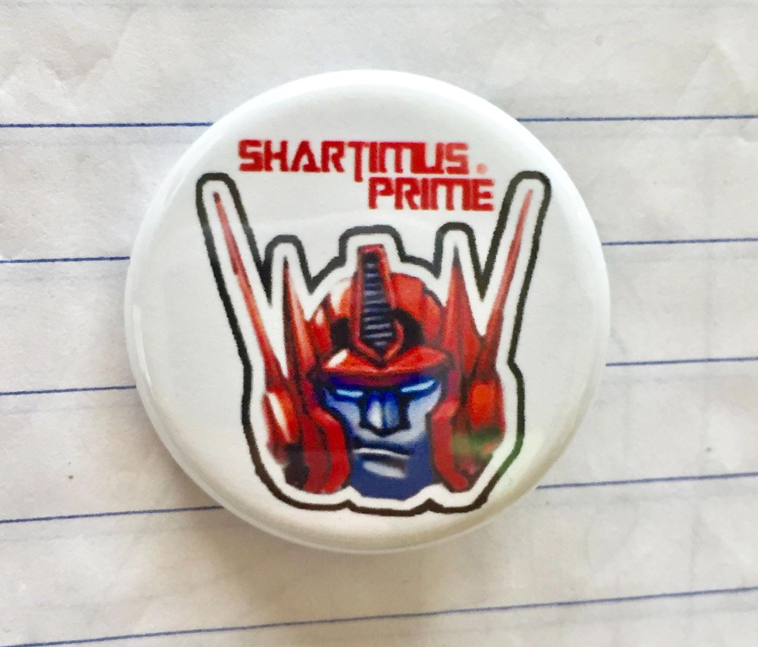 Shartimus Prime Pins 1-1/4″