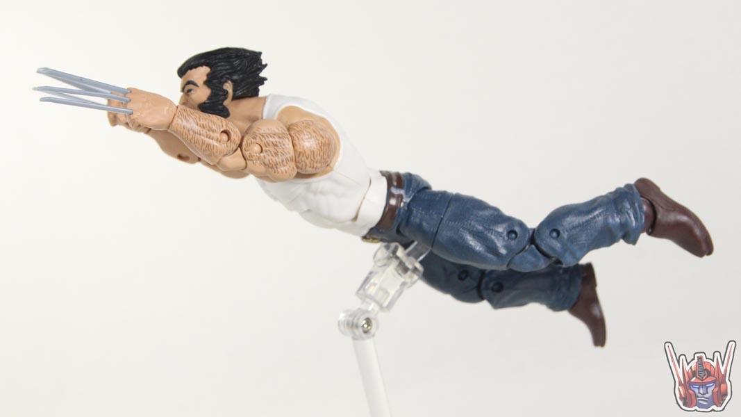 Marvel Legends Wolverine Motorcycle Bike Ultimate Set Marvel Comics Logan Action Figure Toy Review